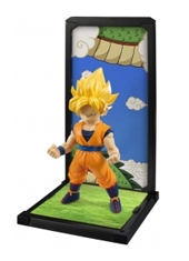Figura Dragon Ball Z Tamashii Buddies Super Saiyan Son Gokú Bandai
