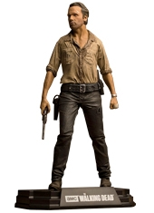Figura The Walking Dead Rick Grimes Serie Color Tops McFarlane
