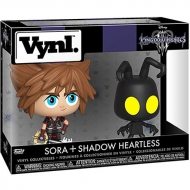 Figura Vynl Sora And Shadow Heartless