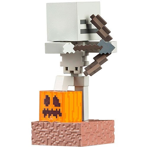 Figuras Minecraft Adventure Skeleton Jinx