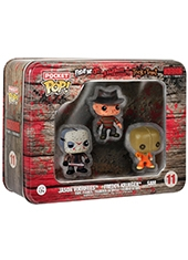 Funko Pocket POP! Horror 3-Pack Freddy Jason & Sam