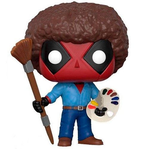 Funko POP! Deadpool Playtime Bob Ross