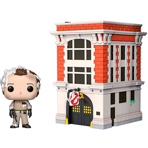 Funko POP! Ghostbusters DR. Peter Venkman With Firehouse