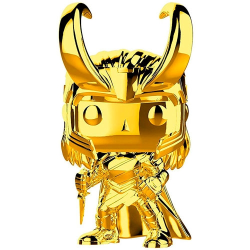 Funko POP! Marvel Loki Gold Chrome