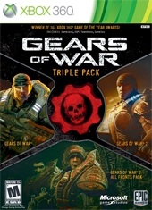 Gears Of War Triple Pack Xbox 360 Inglés