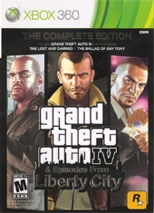 Grand Theft Auto IV GTA IV Complete Edition Xbox 360