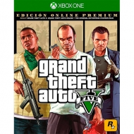 GTA V Grand Theft Auto V Premium Online Edition Xbox One