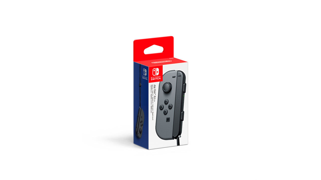 joy con left gris nintendo switch microplay. Black Bedroom Furniture Sets. Home Design Ideas