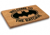 Limpiapies, Batman, The Batcave, Batcave, Dootmat, Welcome,
