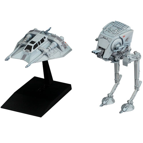 Maqueta Escala Vehicle Model 008 AT ST And Snowspeeder