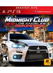 Midnight Club Los Angeles Edición Completa PS3