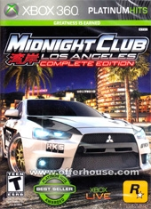 Midnight Club Los Angeles Edición Completa Xbox 360