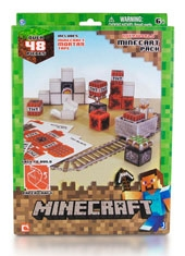 Minecraft Papercraft Minecart Set