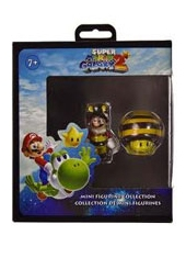Mini Figurine Super Mario Galaxy 2 Traje Abeja