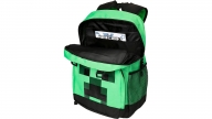 Mochila Minecraft Creepin Up Green