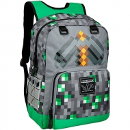 Mochila Minecraft Emerald Survivalist
