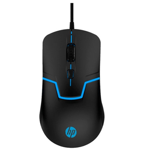 Mouse Alambrico Gamer Negro M100 HP