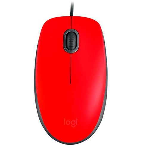 Mouse M110 Silent Red Logitech