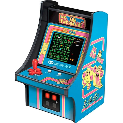Consola Ms.Pacman Arcade Micro Player Dreamgear