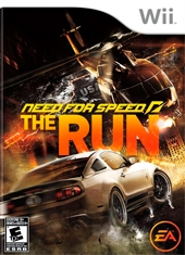 Need for Speed (NFS) The Run Wii