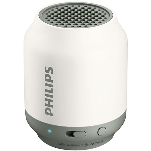 Parlante Bluetooth BT50 Blanco/Gris Philips