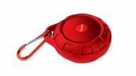 Parlante Bluetooth DuraTunes Water Resistant Rojo iSound