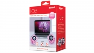 Parlante PC Cable Ice Pink Isound