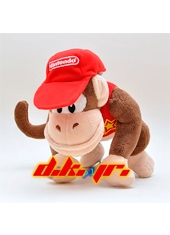 "Peluche 9"" Diddy Kong"