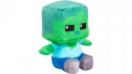 Peluche Minecraft Mini Crafter Zombie Green