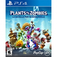 Plants vs Zombies Battle For Neighborville PS4