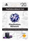 Playstation Network PSN Card US$20