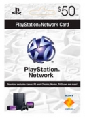 Tarjeta Playstation Network PSN Card US$50