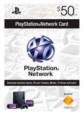 Playstation Network PSN Card US$50