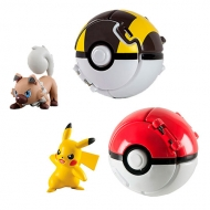 Pokebola Pokemon Throw N pop Tomy