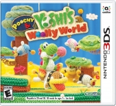 Poochy, &, And, Yoshis, Yoshi, Woolly, World, 3DS, Yoshi lanita, wolly, wooly,