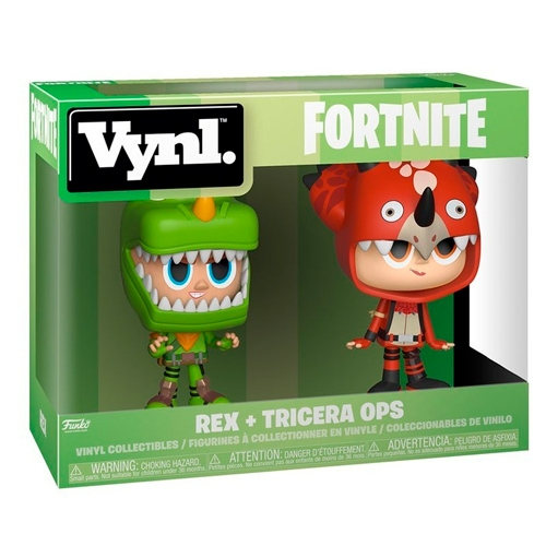 Figura Vynl Fortnite Rex and Tricera Ops