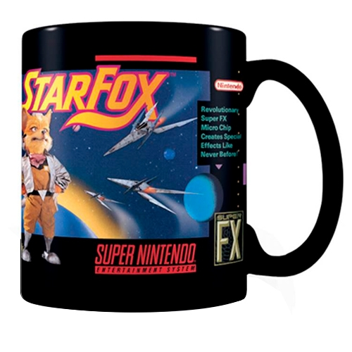Tazón Super Nintendo Star Fox