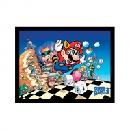 Poster Collector Print Super Mario Bros 3