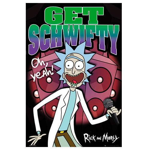 Poster Rick and Morty Get Schiwifty