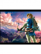 Poster Collector Print Zelda Breath of The Wild