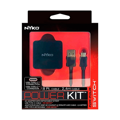 Cargador Nintendo Switch Power Kit Nyko