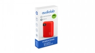 Powerbank 10000 MAH Rojo Audiolab