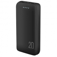Powerbank 20000 MAH Negro Audiolab