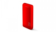 Powerbank 20000 MAH Rojo Audiolab