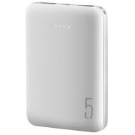 Powerbank 5000 MAH Blanco Audiolab