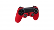 Protector De Silicona PS4 Rojo Action Grip RDS
