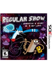 Regular Show Mordecai and Rigby in 8-bit Land 3DS