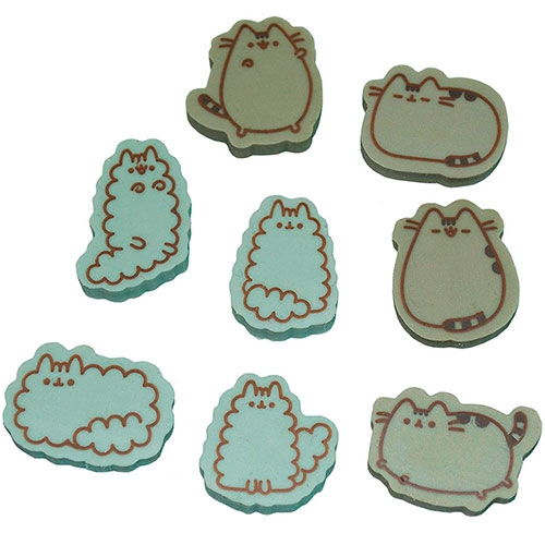 Set Goma De Borrar Pusheen The Cat