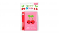 Set Libreta + Lápiz Pocket Scented Cereza