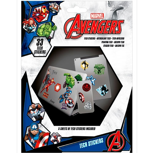 Set Stickers Avengers